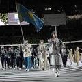 カザフ美人旗手が舞台裏を告白