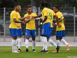 全勝で決勝進出を果たしたU-22ブラジル代表