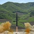 北朝鮮のミサイル発射実験(資料写真)=(聯合ニュース)
