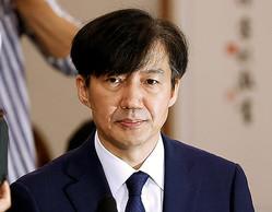 辞任したチョ・グク法相(ロイター)