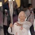 104歳の聖火リレーランナー 走破翌日に接した姪の「悲報」