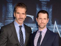 デビッド・ベニオフとD・B・ワイス Photo by Jeff Kravitz/FilmMagic for HBO