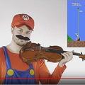 バイオリンでマリオのBGM レベル別に4段階で演奏する動画が話題