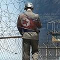 北朝鮮兵士1人が韓国に亡命した(コラージュ)=(聯合ニュース)