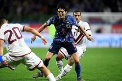 日本代表で52試合に出場し、11得点を挙げている原口元気。写真:金子拓弥(サッカーダイジェスト写真部)