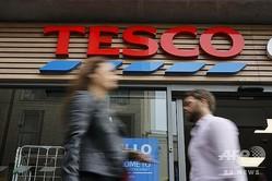英スーパーマーケット大手「テスコ」の店舗。英ロンドン中心部にて(2019年9月30日撮影、資料写真)。(c)AFP/Tolga AKMEN