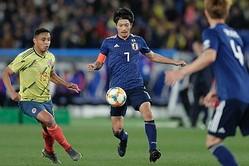 香川真司の代表復帰戦は黒星…無得点でコロンビアに惜敗