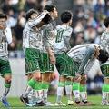 2点のリードを守り切れず、2−3で逆転負けを喫した青森山田。写真:金子拓弥(サッカーダイジェスト写真部)