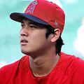 「6番・DH」で先発出場し、前田健太と対戦する大谷翔平【写真:Getty Images】