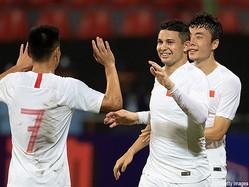 中国代表FWエウケソンがデビュー戦で2ゴール