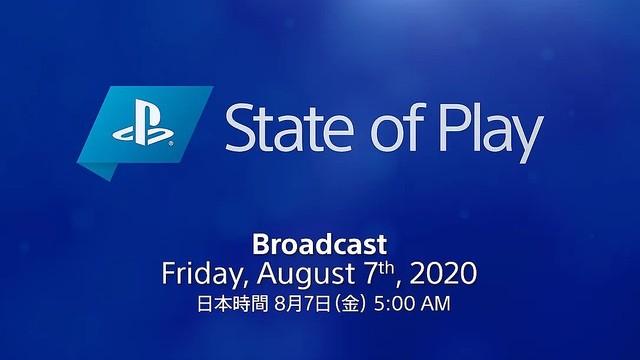ソニー、PS4 / PS VR新作発表 State of Play を8月7日朝5時配信。PS5本体や発売日、予約情報は含まず