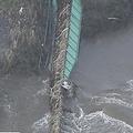 堤防決壊、線路が橋ごと流される…復旧の見通し立たず、茨城