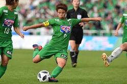 田中美南、2018年度プレナスなでしこリーグ最優秀選手賞を初受賞
