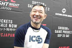桜庭和志(2017 年 UFC 殿堂入り) 撮影:中村拓己