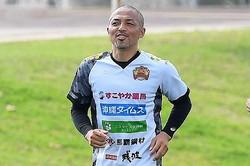 小野伸二が以前投稿したの「鬼ピタ!トラップ」は多くの選手たちが挑戦した。写真:金子拓弥(サッカーダイジェスト写真部)