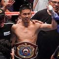井岡一翔は日本人初の4階級制覇を達成した【写真:Getty Images】