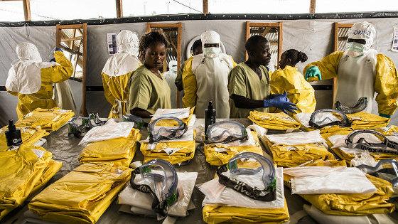 エボラ出血熱の流行がコンゴ民主共和国で発生したとWHOが発表、新型コロナウイルスとはしかも同時に流行中