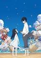 TVアニメ『かくしごと』ティザービジュアル (C)久米田康治・講談社/かくしごと製作委員会
