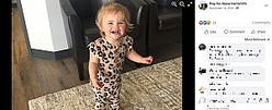 ボタン電池の誤飲で亡くなった女児(画像は『Pray for Reese Hamsmith 2020年11月14日付Facebook』のスクリーンショット)