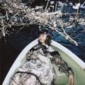 桜との2ショットを撮った女性 友人に「カキじゃん」と言われてしまう