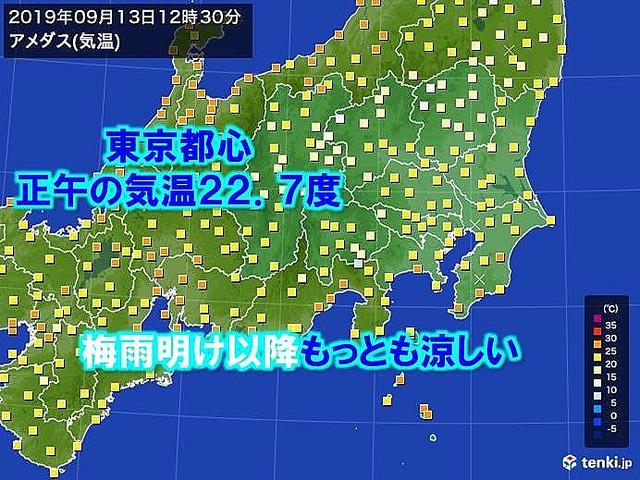 いつ 明け 東京 梅雨
