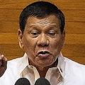 フィリピン・マニラの議会で演説するロドリゴ・ドゥテルテ大統領(2017年7月24日撮影)。(c)AFP=時事/AFPBB News
