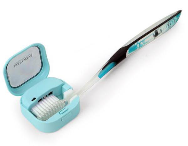 [画像] 歯ブラシは便器より汚い!? 充電式除菌キャップの効能