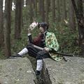 「鬼滅の刃」の主要キャラクター・冨岡義勇コスプレをする人も。すでに漫画を読んだ人ならわかる、錆兎との切ないエピソードが思い起こされる/こぢ(@kohzi_dayo)、撮影:忍(@Shinobu0726)