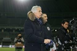 E-1選手権での優勝を逃した日本のハリルホジッチ監督は試合後、韓国の実力が上だったと語った。写真:滝川敏之(サッカーダイジェスト写真部)