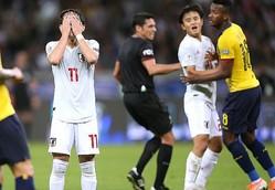 勝たなければいけない試合で幾度もチャンスを創出するも日本は決定力を欠いた。  (C) REUTERS/AFLO