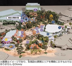 東京ディズニーランド大規模開発、施設名称が決定