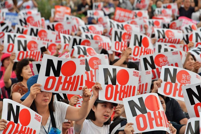 韓国 不買運動 海外の反応