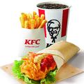 KFC 500円のランチセットが充実