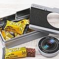 カルディの「カメラ缶チョコ」