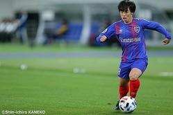ACLでプロデビューを飾ったFC東京・紺野和也…「実際にプレーしてすごく楽しかった」