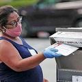 トランプ大統領の陣営が郵便投票約700万人分を無効とするよう求めていた訴訟は、連邦地裁が陣営側の主張を退ける判断を下した/Getty Images