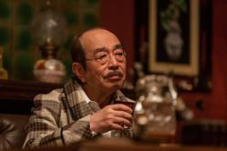 連続テレビ小説「エール」第79話。日本作曲界の重鎮・小山田を演じた志村けんさん。この日が最後に出演となった(C)NHK