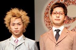 2度目の紅白出場となった'00年の『19』の2人。健治(左)と敬吾(右) 写真=共同通信イメージズ