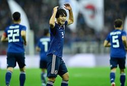 ウルグアイ戦では周囲の期待をはるかに上回る2ゴールの活躍で勝利に貢献。写真:金子拓弥(サッカーダイジェスト写真部)