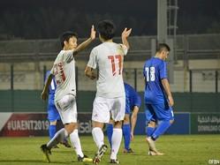 U-21日本代表がクウェートに5-0で快勝