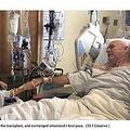 手術後初めて言葉を交わす父娘(画像は『Fox News 2019年12月11日付「Moment daughter reunites with dad after providing life-saving liver donation」(T&T Creative)』のスクリーンショット)