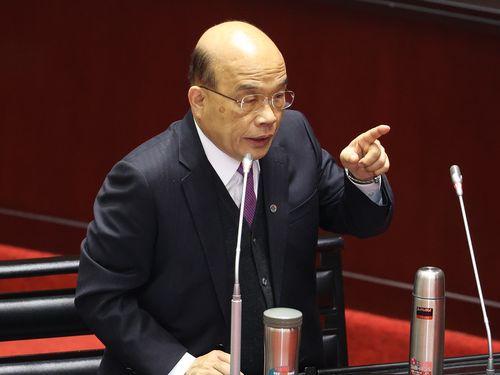 台湾、14日に内閣総辞職  新閣僚人事は20日までに確定の見通し
