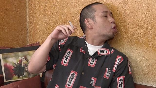 ガマンたばこ テレビ千鳥