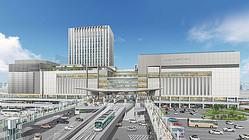 ※広島駅ビル外観イメージ(提供:西日本旅客鉄道)