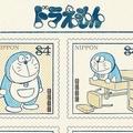 レトロ可愛いデザインの「ドラえもん切手」いいね5万件の人気ぶり