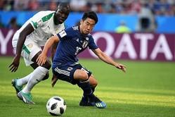 日本の攻撃はすべて香川を経由する、と英紙は捉えているようだ。(C)Getty Images