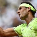 ウィンブルドン選手権のシード順位の決め方に疑問を投げかけた男子テニス、世界ランキング2位のラファエル・ナダル(2019年6月9日撮影)。(c)Philippe LOPEZ / AFP