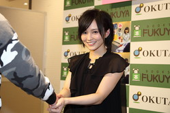 NMB48の山本彩さん(2016年2月撮影)