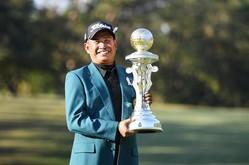 6打差の圧勝劇を披露したタワン・ウィラチャン(提供:日本プロゴルフ協会)