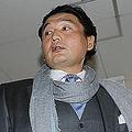 11月20日、大相撲九州場所9日目が行われる福岡国際センターに到着した貴乃花親方(写真=時事通信フォト)